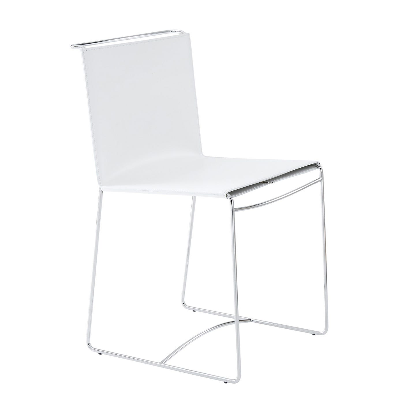 Fil Set of 2 Dining Chairs White Syndreme