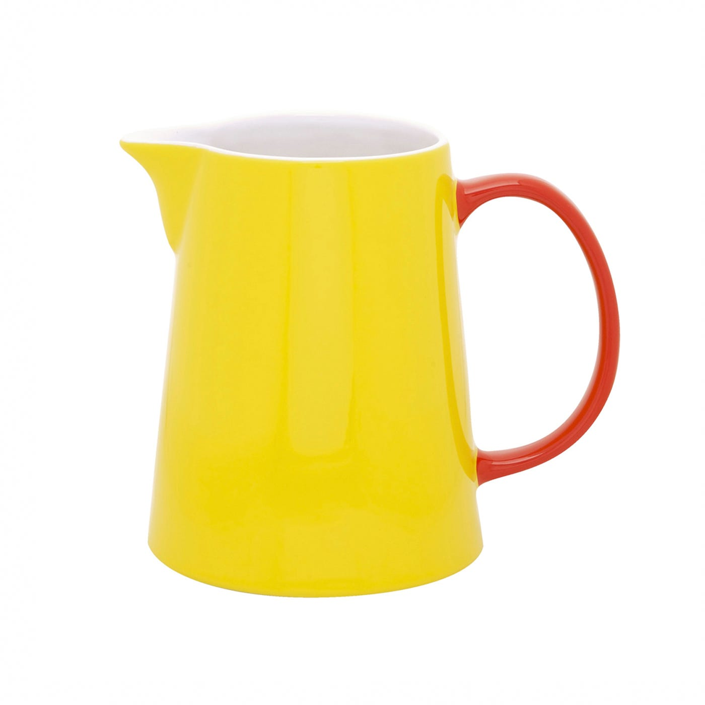 Jansen & Co My Jug Yellow With Red Handle Large