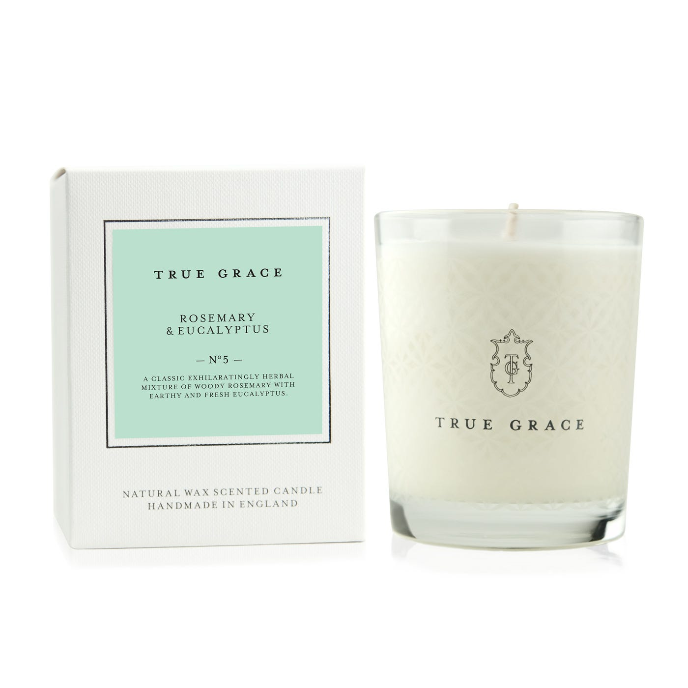 Rosemary And Eucalyptus Candle