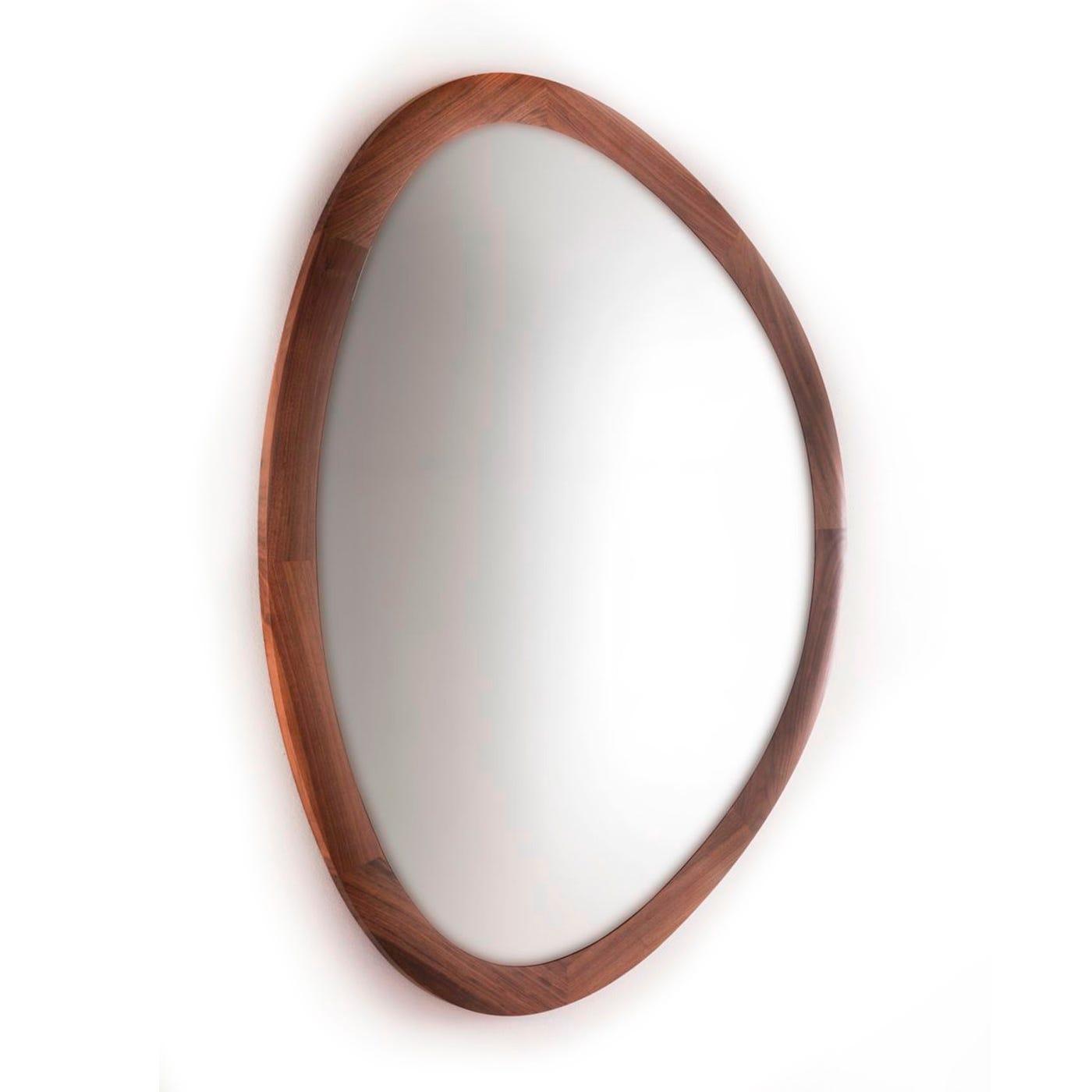 Heal's Dali Walnut Wall Mirror