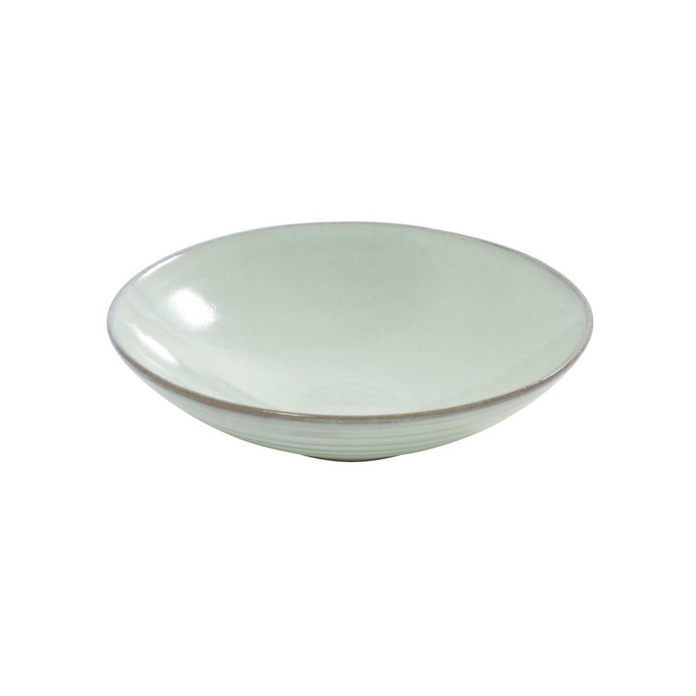 Celadon Soup Plate Aqua