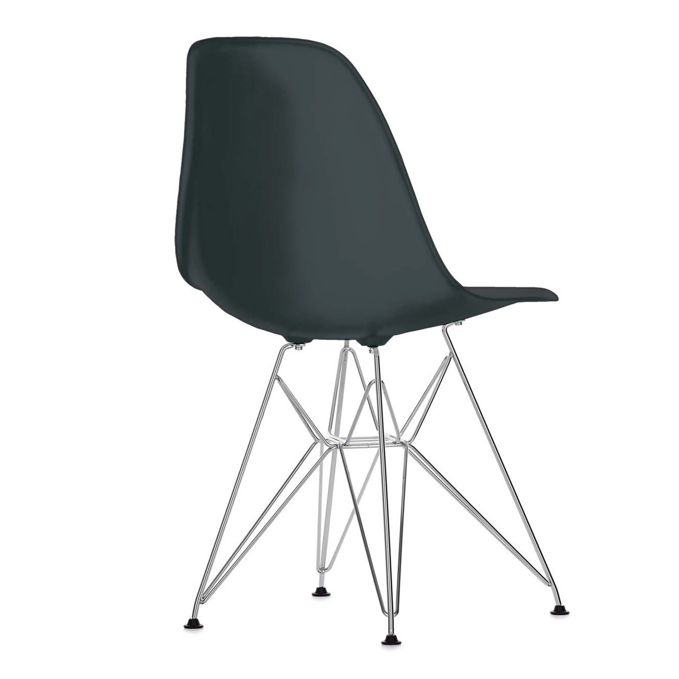 Eames DSR Side Chair Old Height Basic Dark