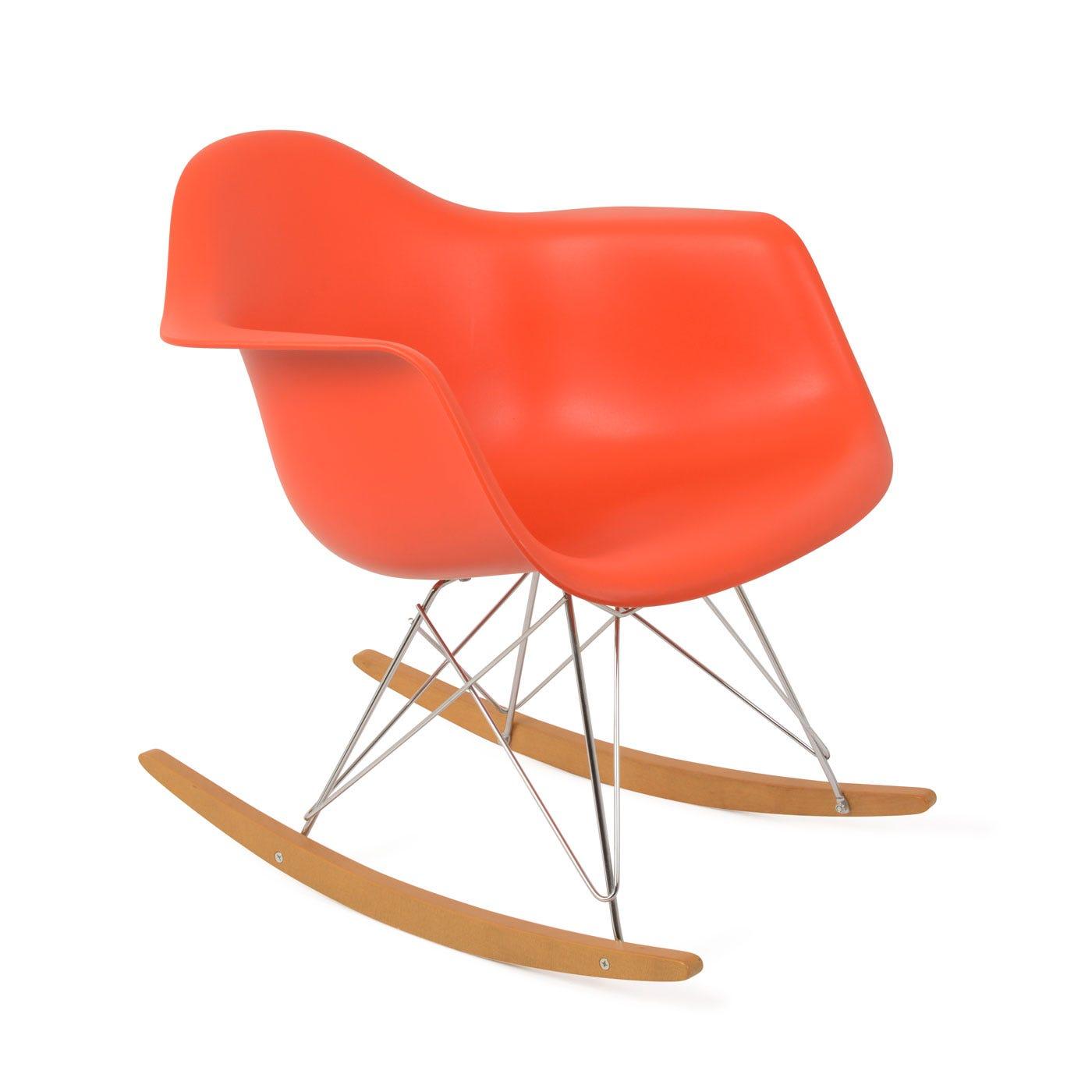 Eames Plastic Armchair Rar 03 Poppy - Warehouse Sale