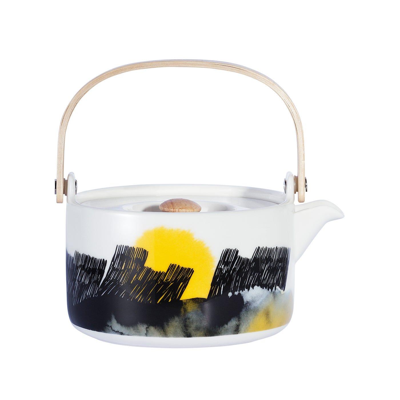 Weather Diary Teapot