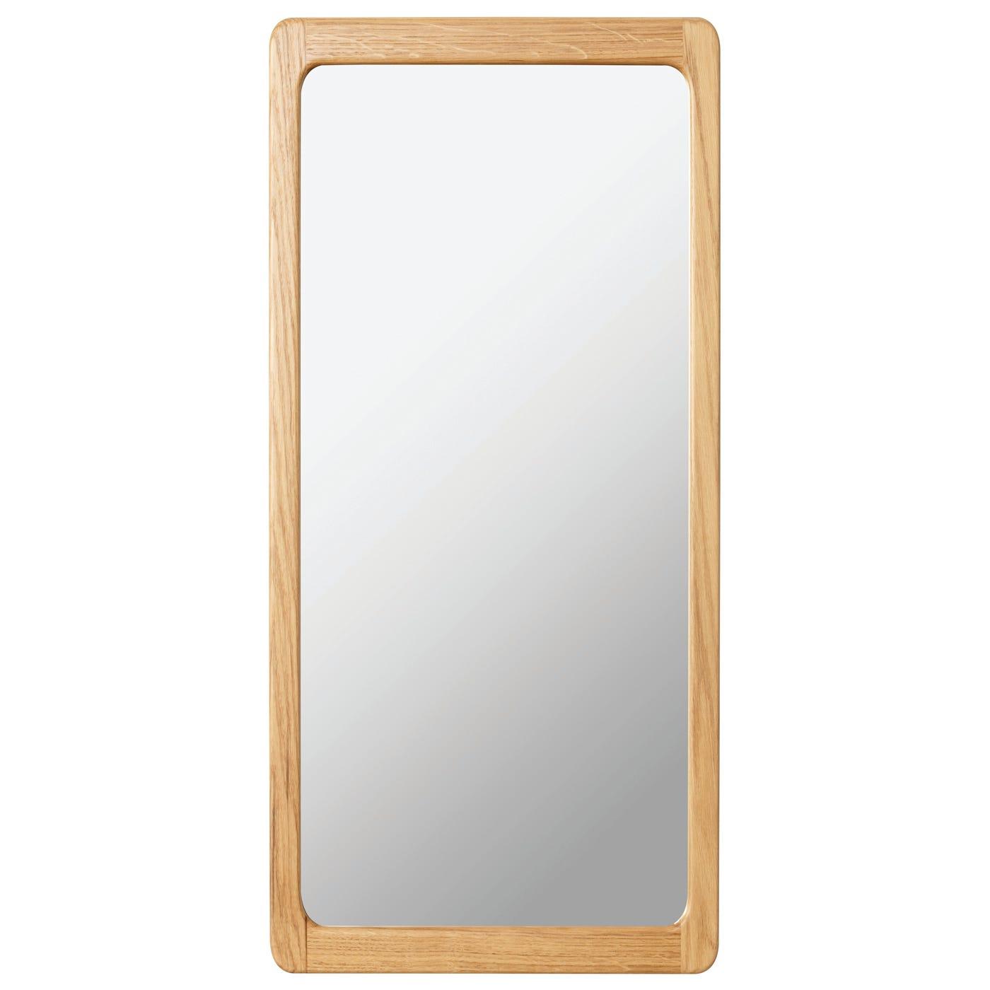 Scp Agnes Large Oak Mirror