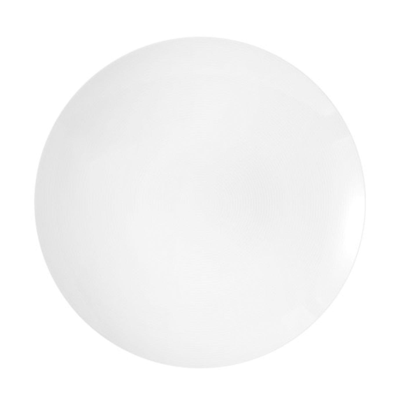 Loft White Dinner Plate