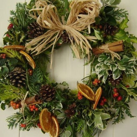 Christmas Wreath Workshop with Sue Bradley Flowers | Redbrick Mill | 22nd November