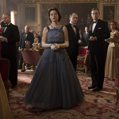 In conversation: The Crown: Season 2 Costume Designer Jane Petrie with The Telegraph's Claire Cohen