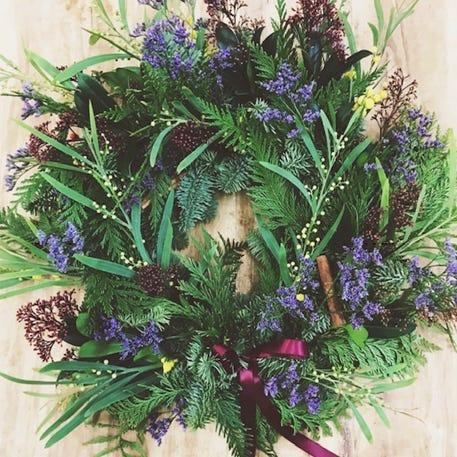 Christmas Wreath Workshop with In Bloom | Birmingham Mailbox | 8th December