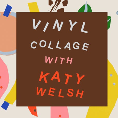 Vinyl Collage Workshop with Katy Welsh | Westfield London | 18th May | 11am - 1pm