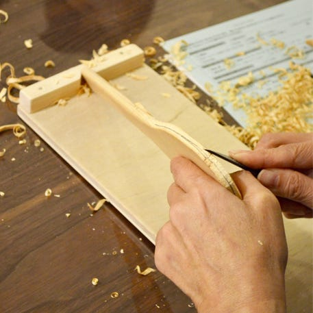 Wooden Spatula Carving with Woodpecker | Tottenham Court Road | 9th May | 6pm - 8pm