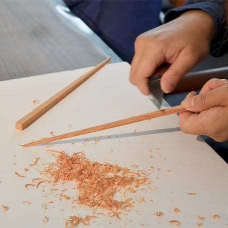 Wooden Chopsticks Carving with Woodpecker | Tottenham Court Road | 11th May | 11am - 1pm