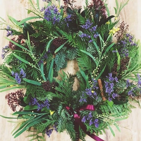 Christmas Wreath Workshop with In Bloom | Birmingham Mailbox | 1st December