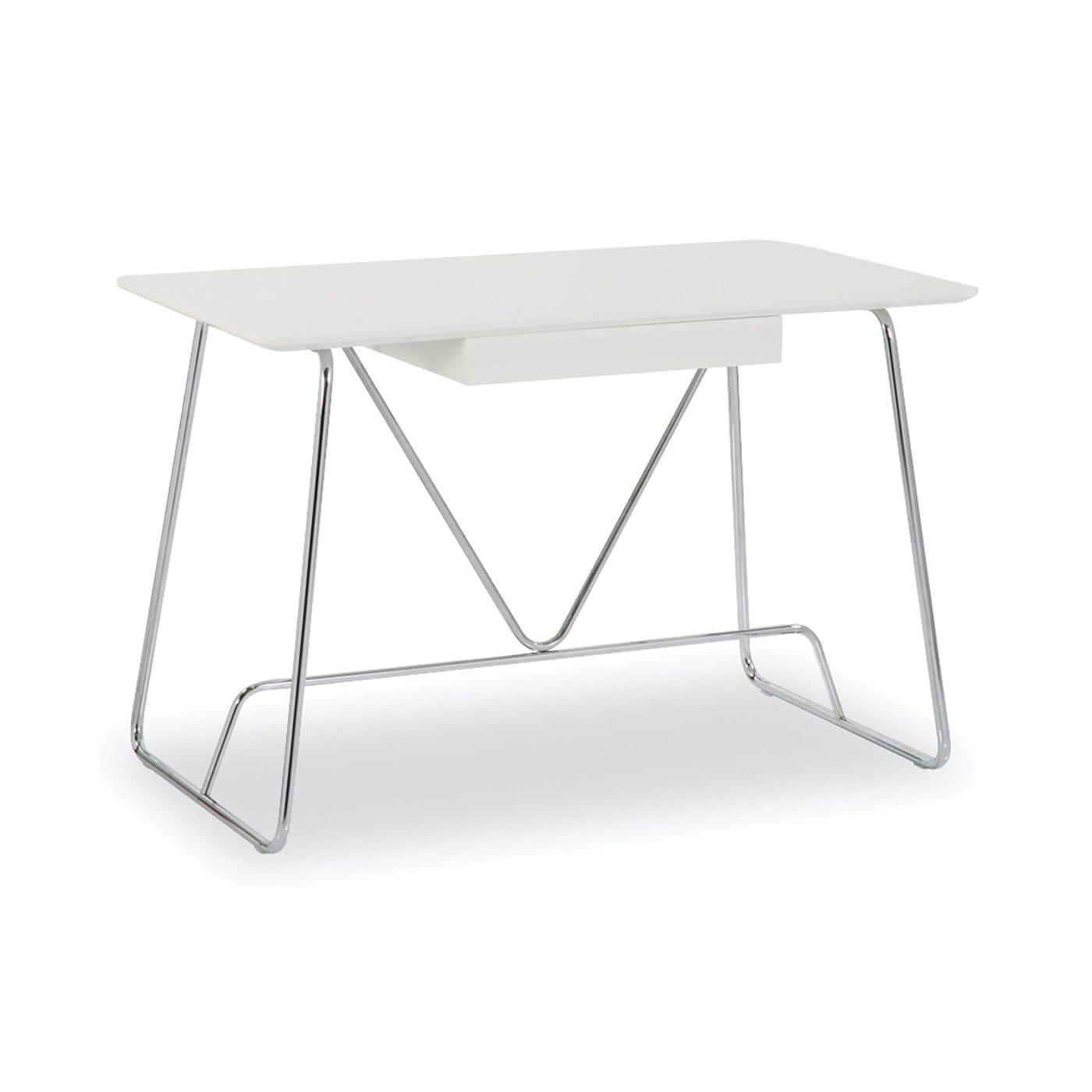 Duke Desk White Lacquer