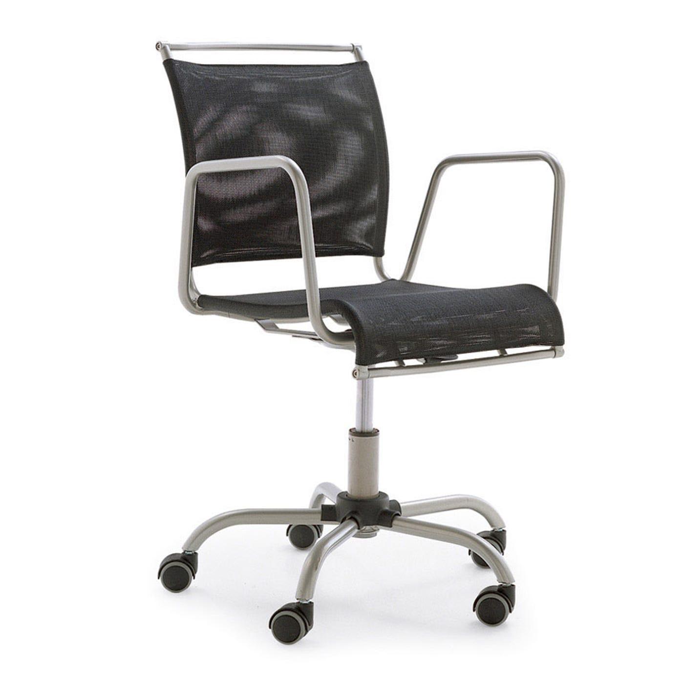 Air Race Office Chair Net Black - Warehouse Sale