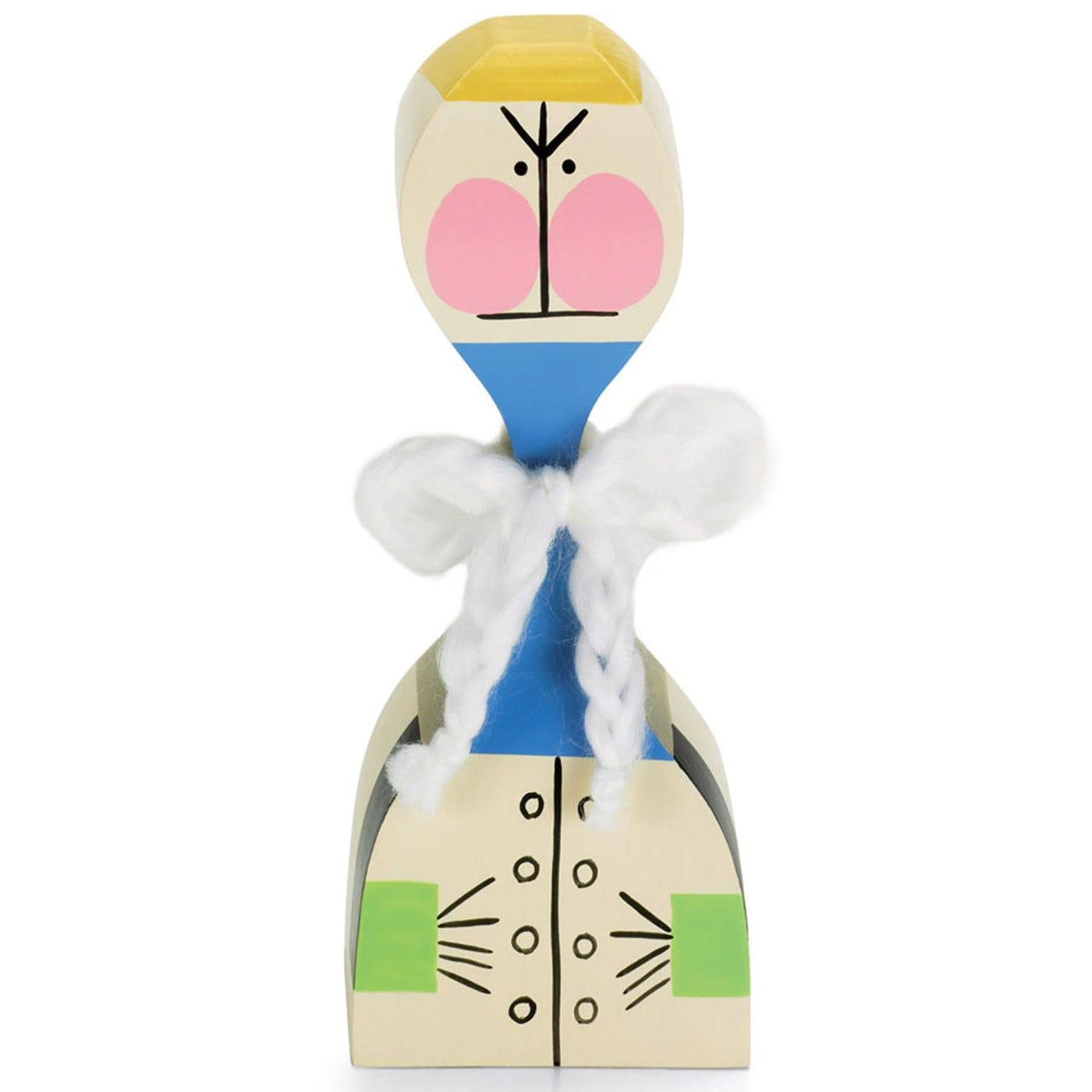 Vitra Girard Doll No 21 Angry Pink Cheek Yellow Hair