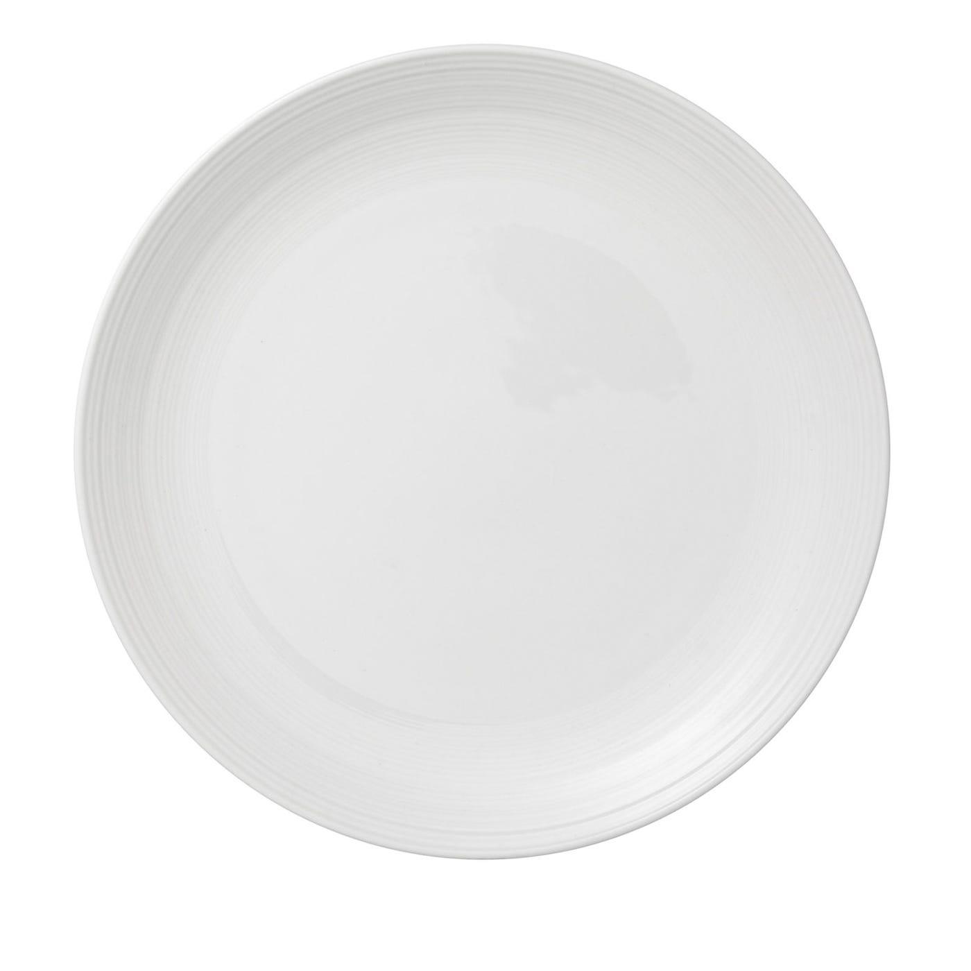 Loft White Round Dish