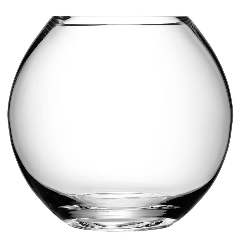 Lsa international flower round bouquet vase clear heal s for Walmart fish bowl