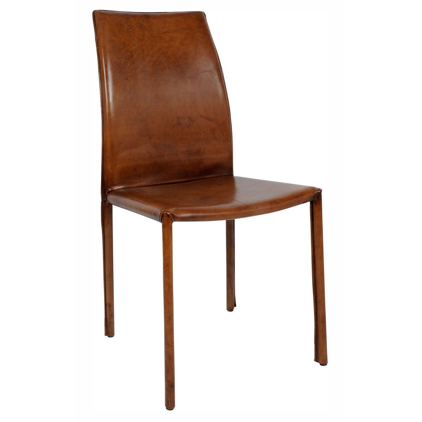 heal's buffalo side chair