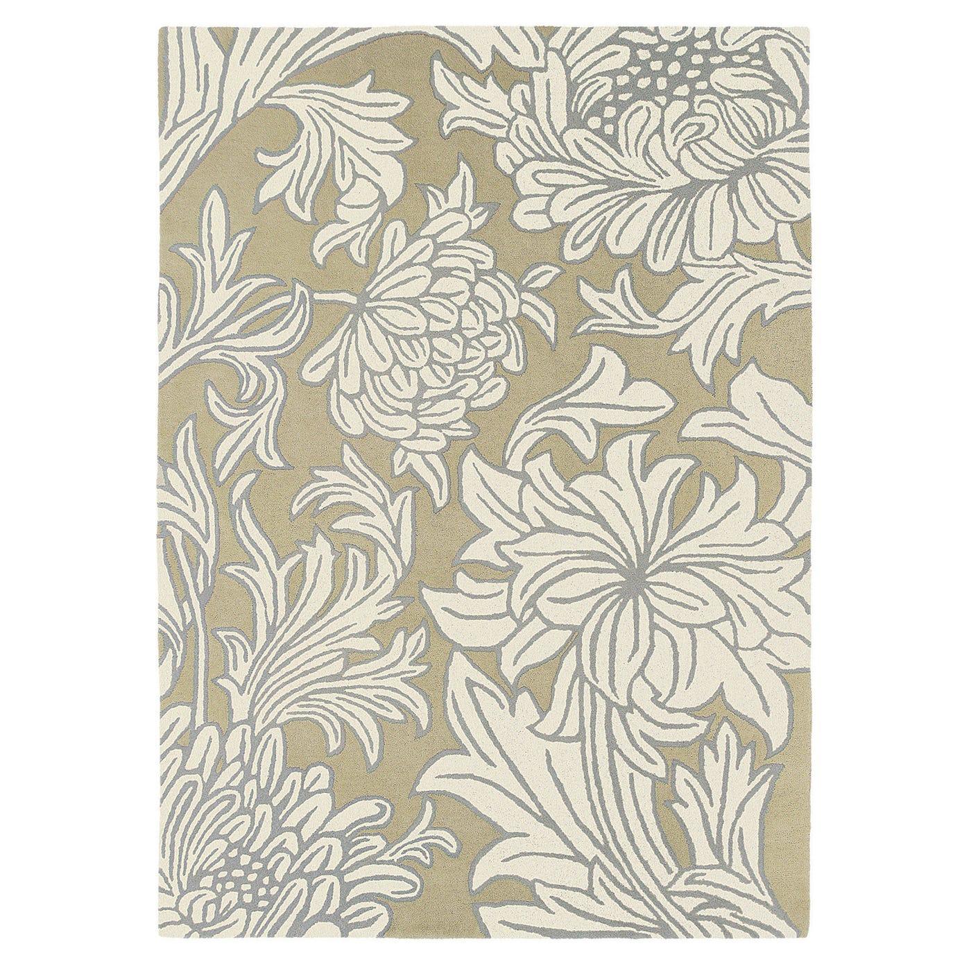 Morris & Co Chrysanthemum Rug 170 x 240cm Sisal