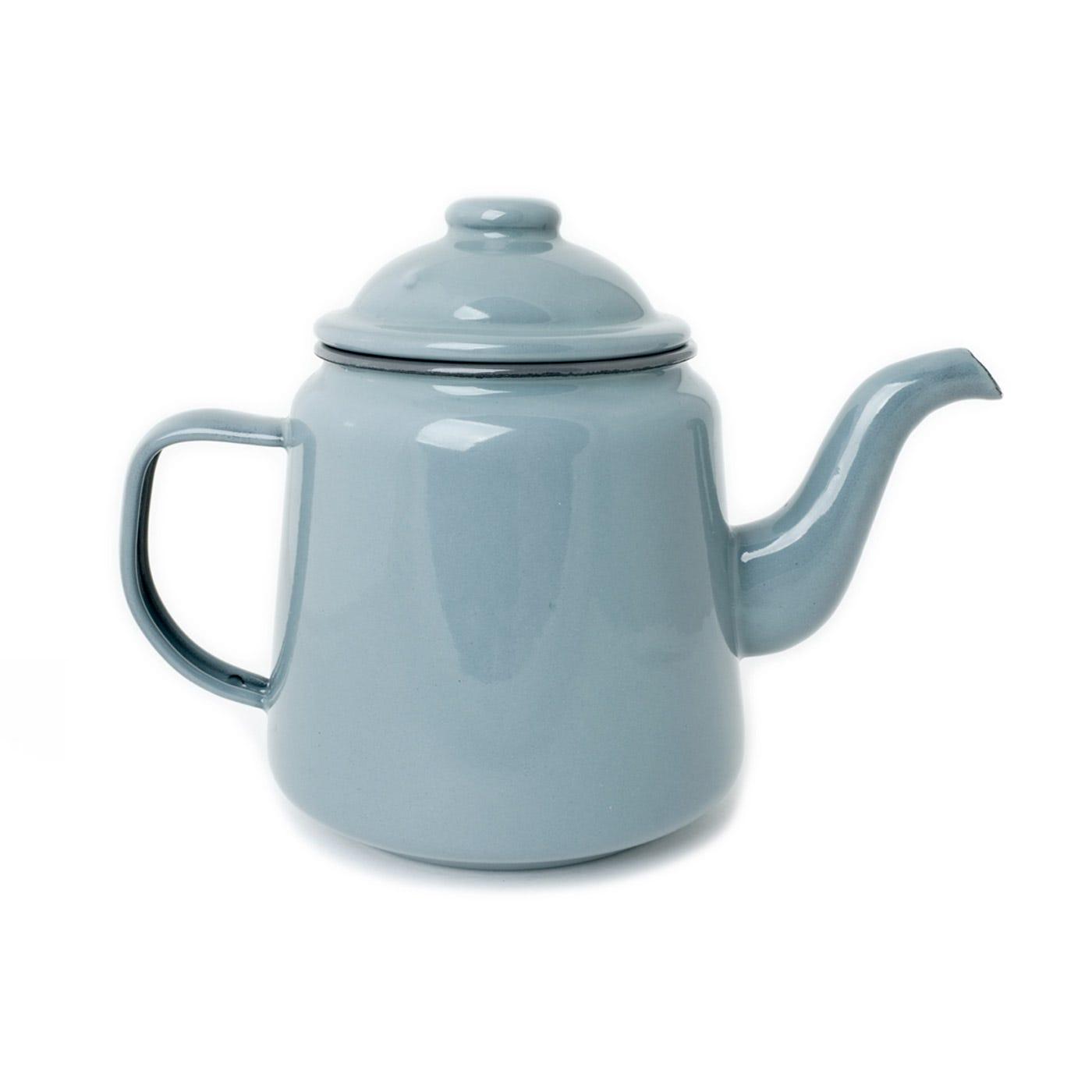 Falcon Pigeon Grey Teapot 1l