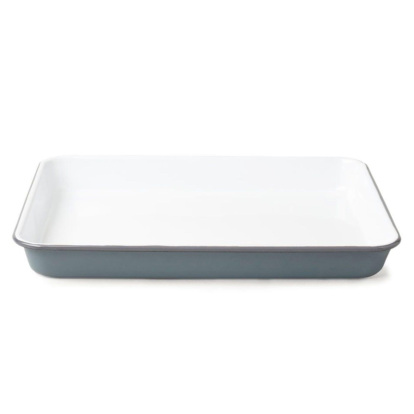 Falcon Enamelware Tray Grey