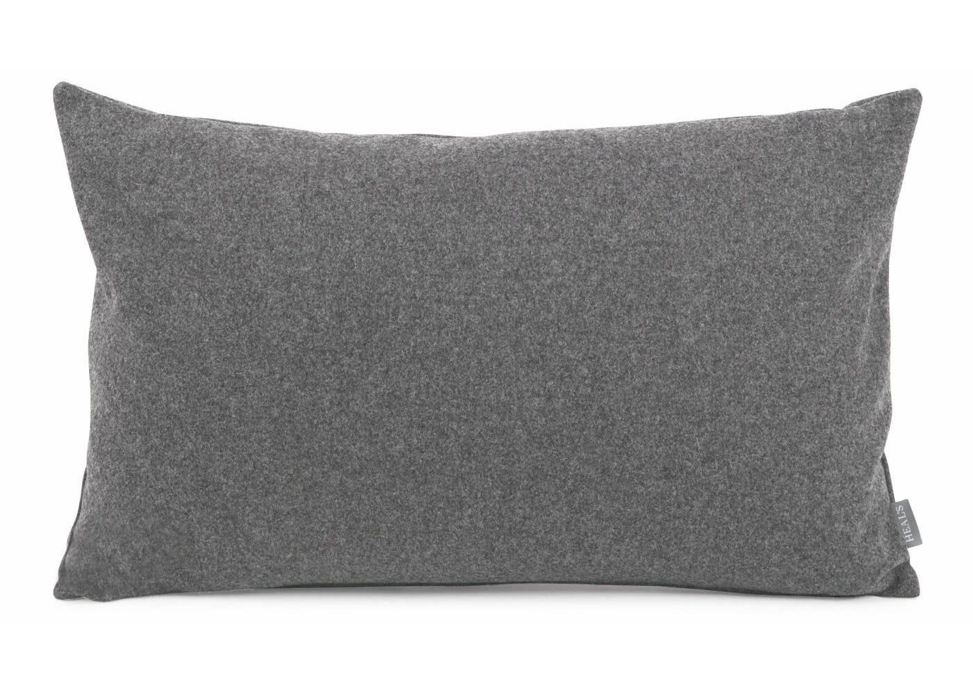 Islington Wool Cushion Slate 35 x 55cm