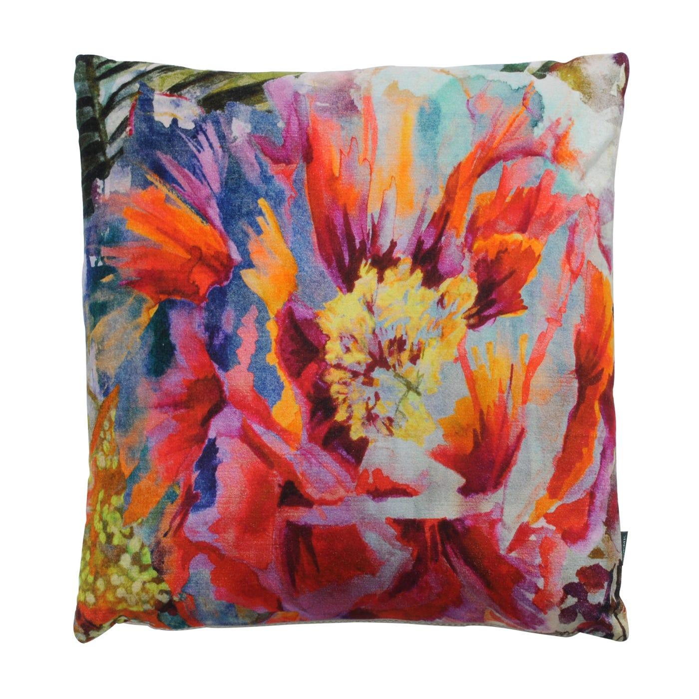 Boeme Peony Velvet Cushion