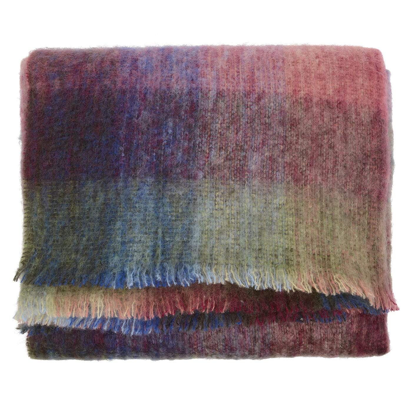 Birchwood : Ireland - Peach Mohair Blanket