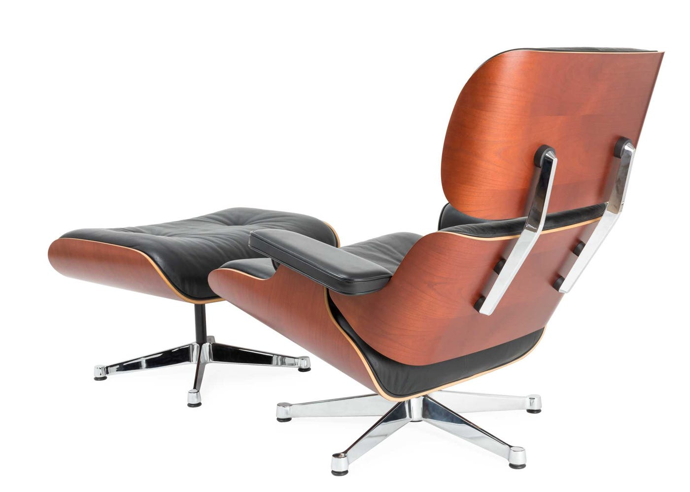Longe Chair vitra eames lounge chair & ottoman (classic) black