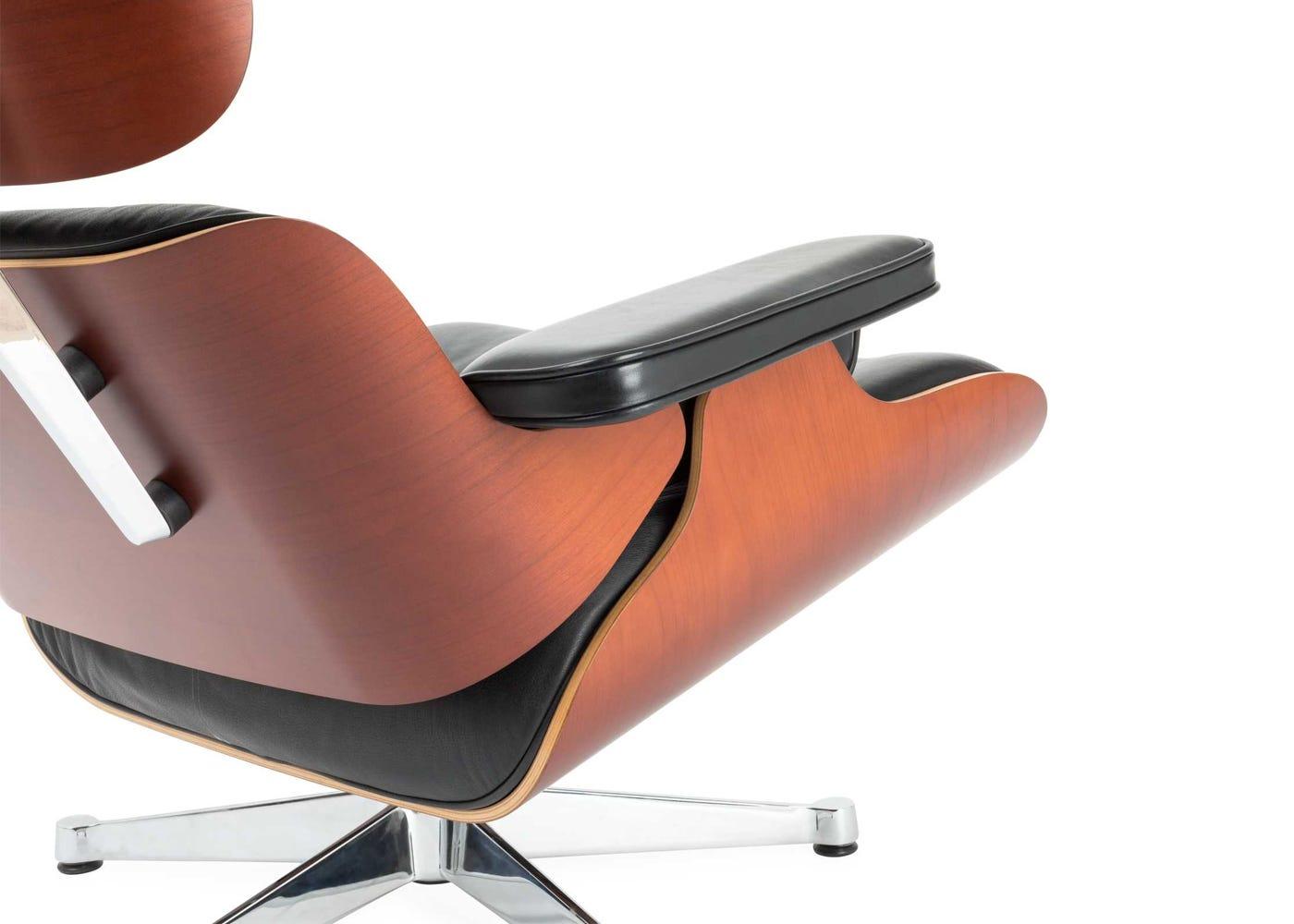 vitra eames lounge chair ottoman classic black. Black Bedroom Furniture Sets. Home Design Ideas