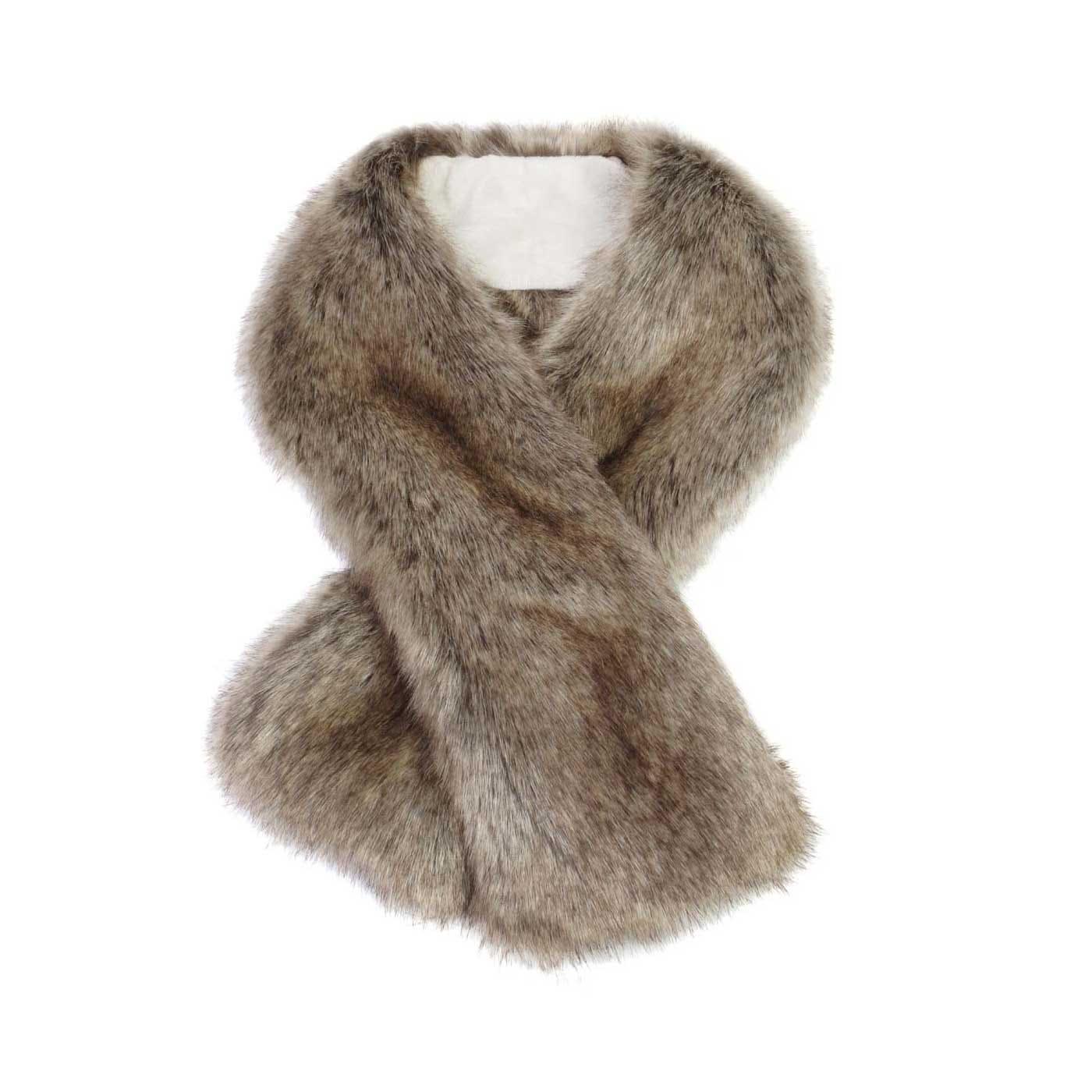 Faux Fur Tippet Scarf