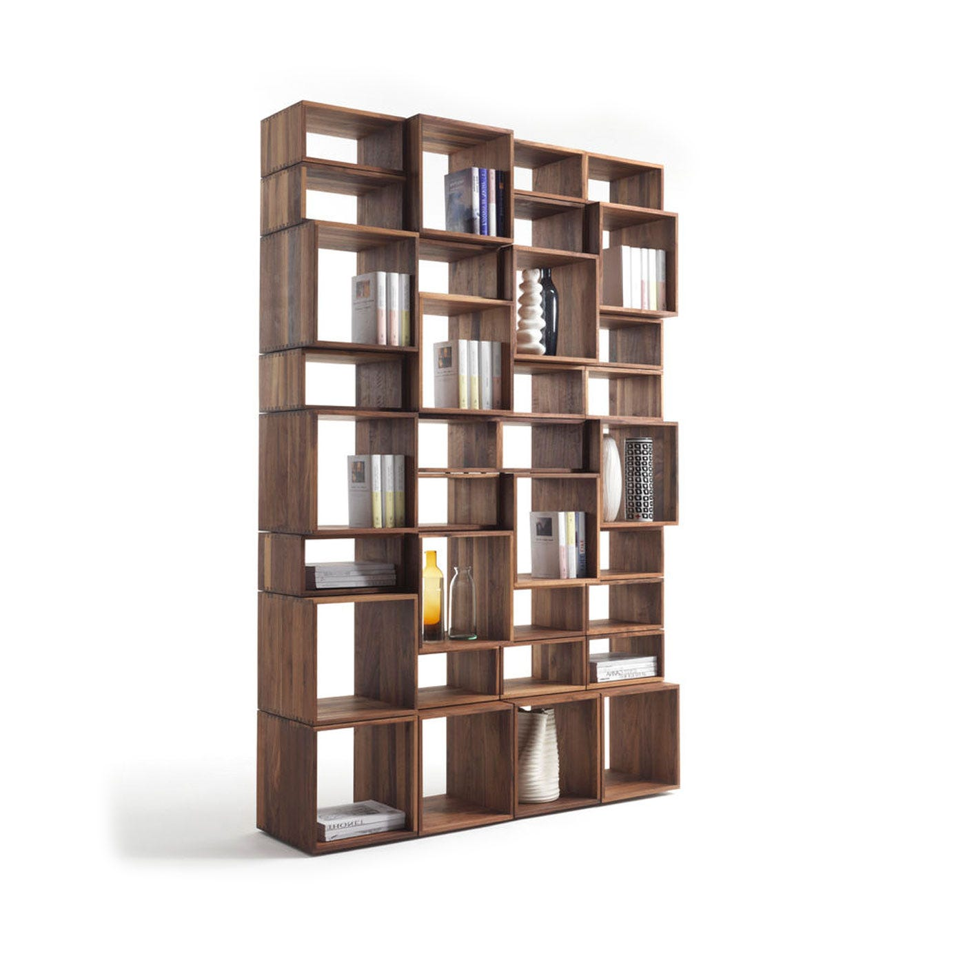 Riva 1920 Freedom Project 4 Bookshelf In Walnut