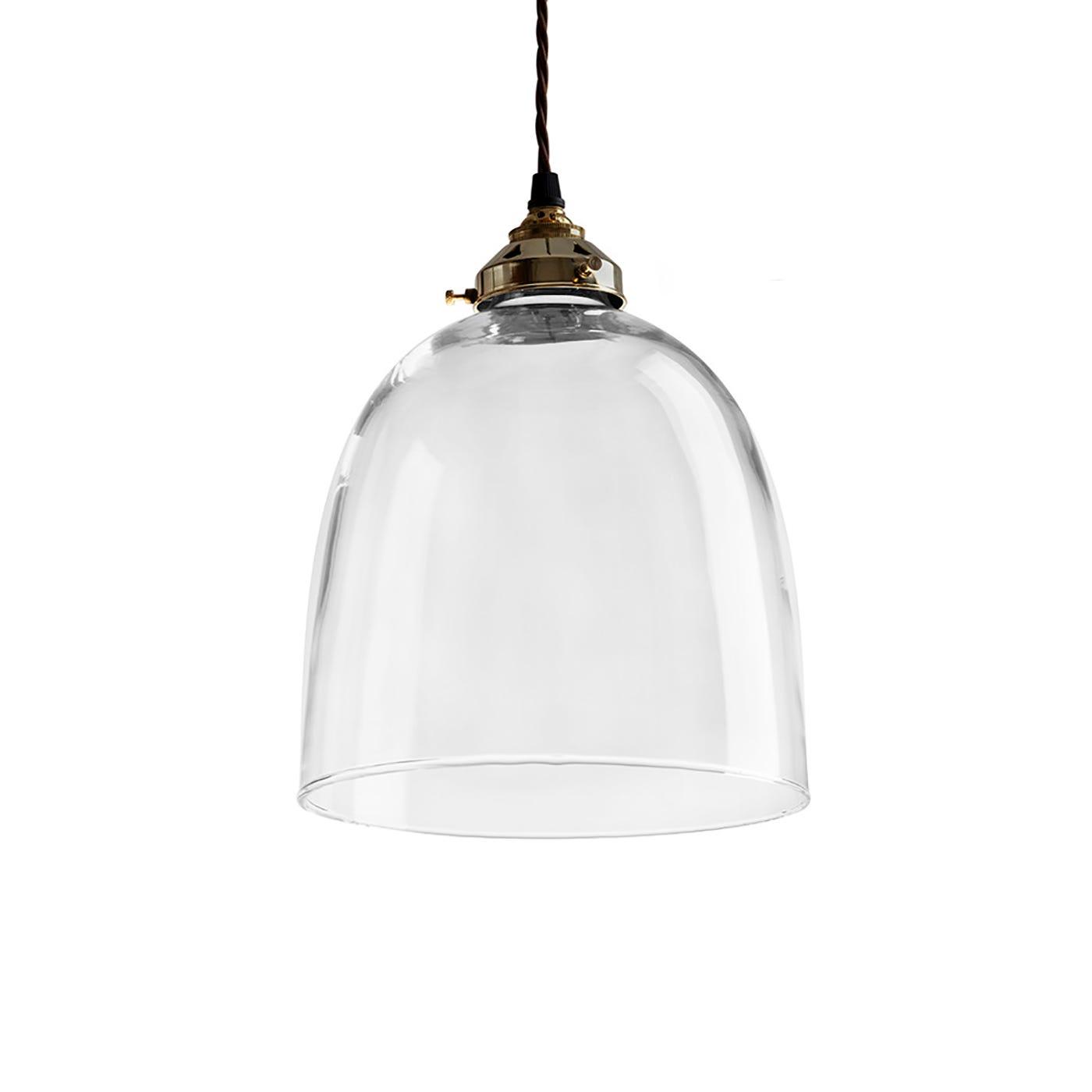 Metal Pendant Lighting Glass Bell Pendant Light Antique Metal Fittings Extra Large