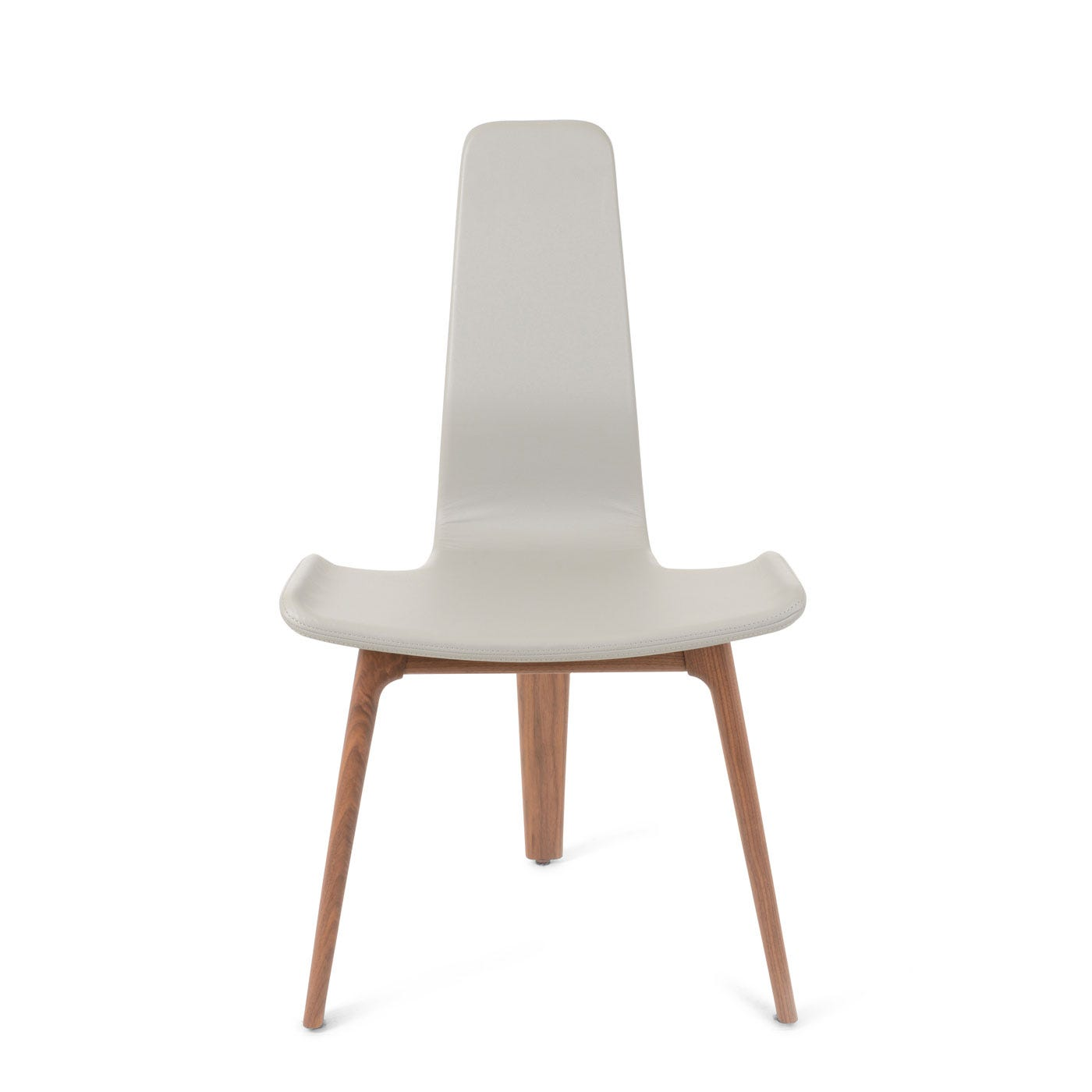 tapas upholstered dining chair walnut and fog