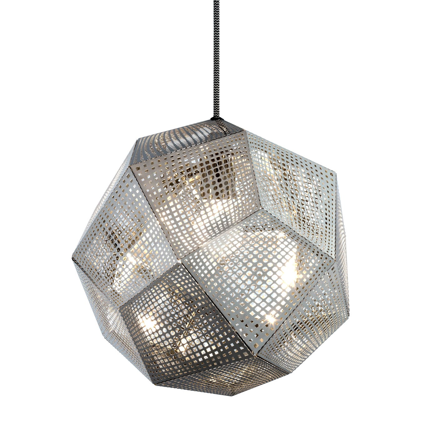Metal Pendant Lighting Etch Pendant Light