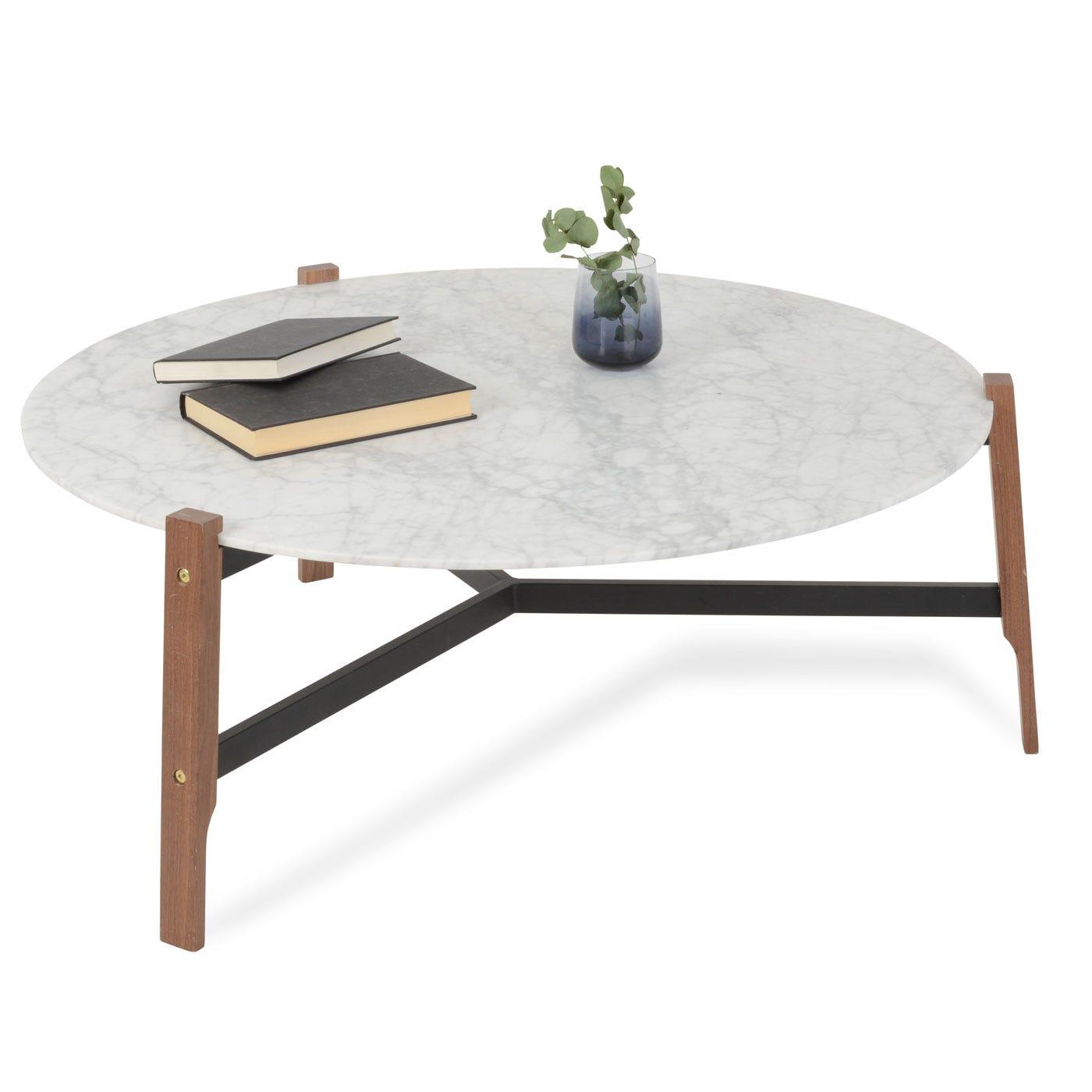 Blu Dot Free Range Coffee Table in Marble