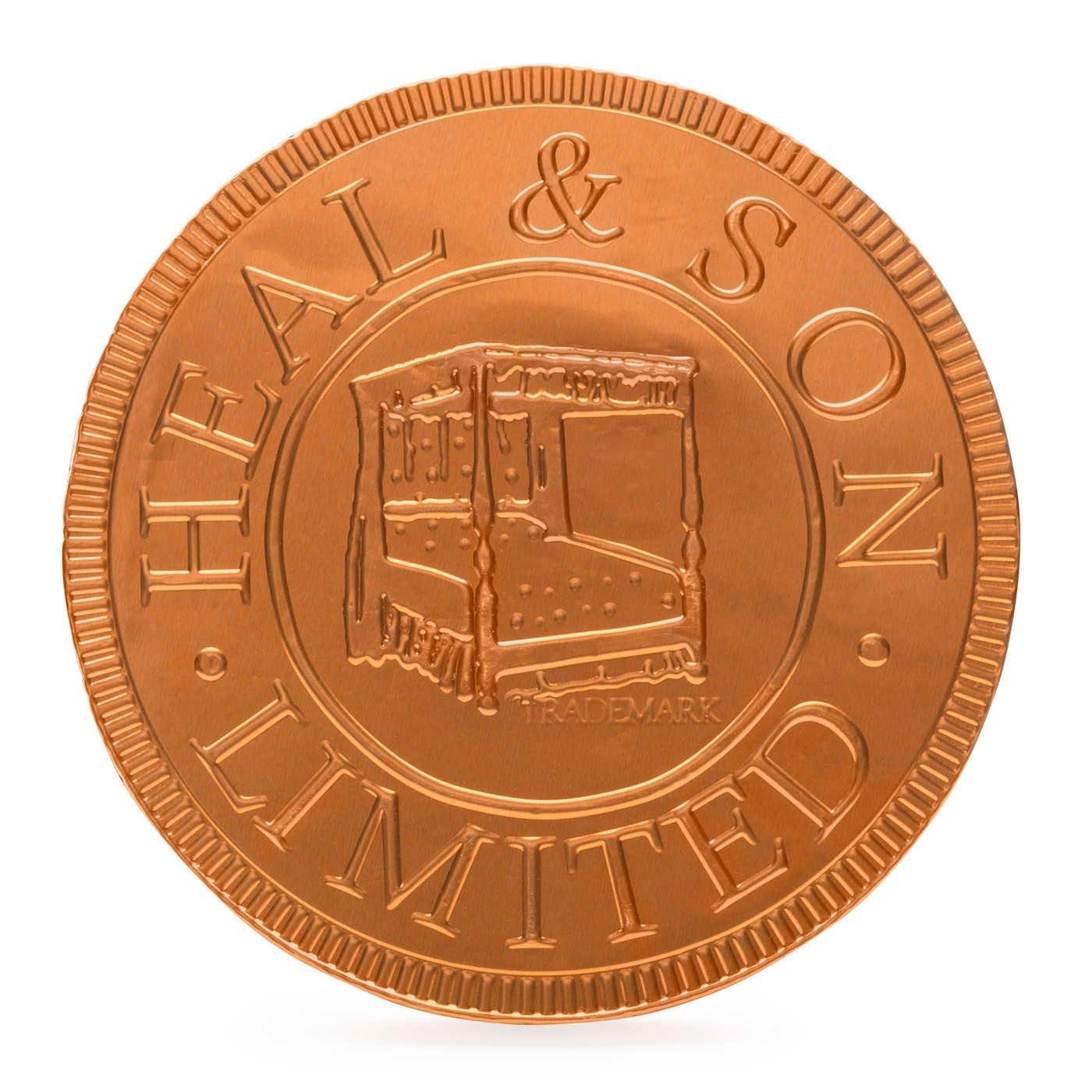 Heal's Chocolate Coin Bronze