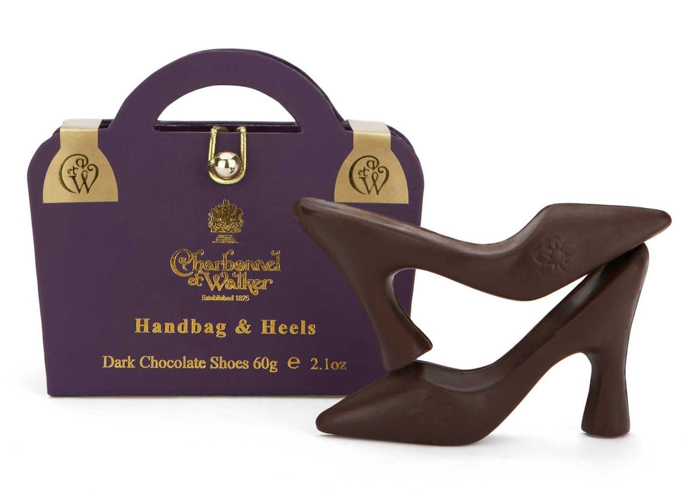 Handbag and Heels Purple Box