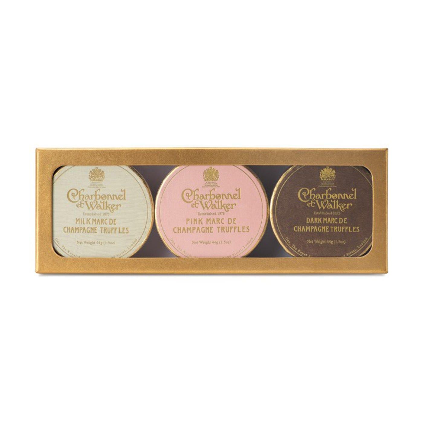 Champagne Truffle Gift Set