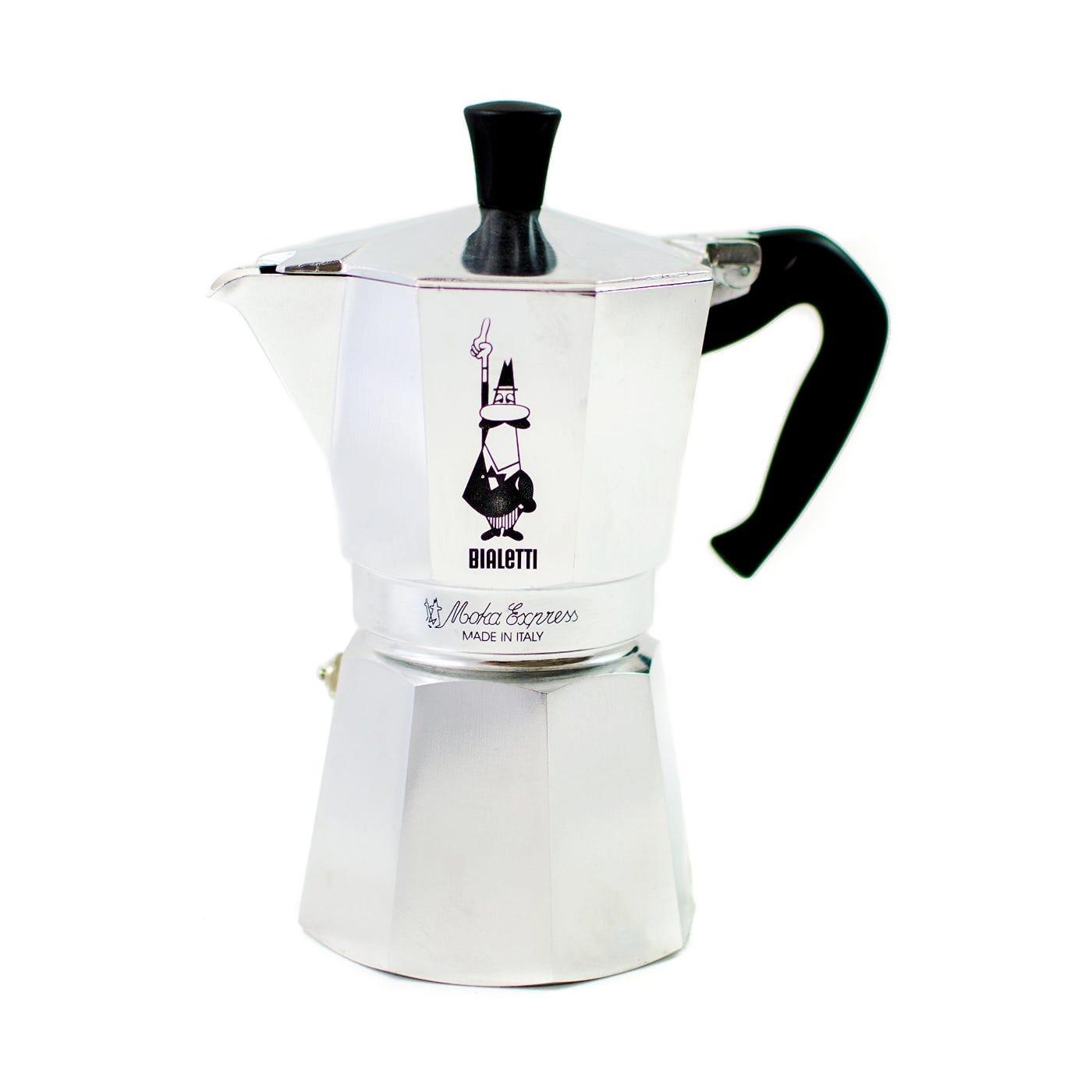 Bialetti Espresso Maker 9 Cup Silver