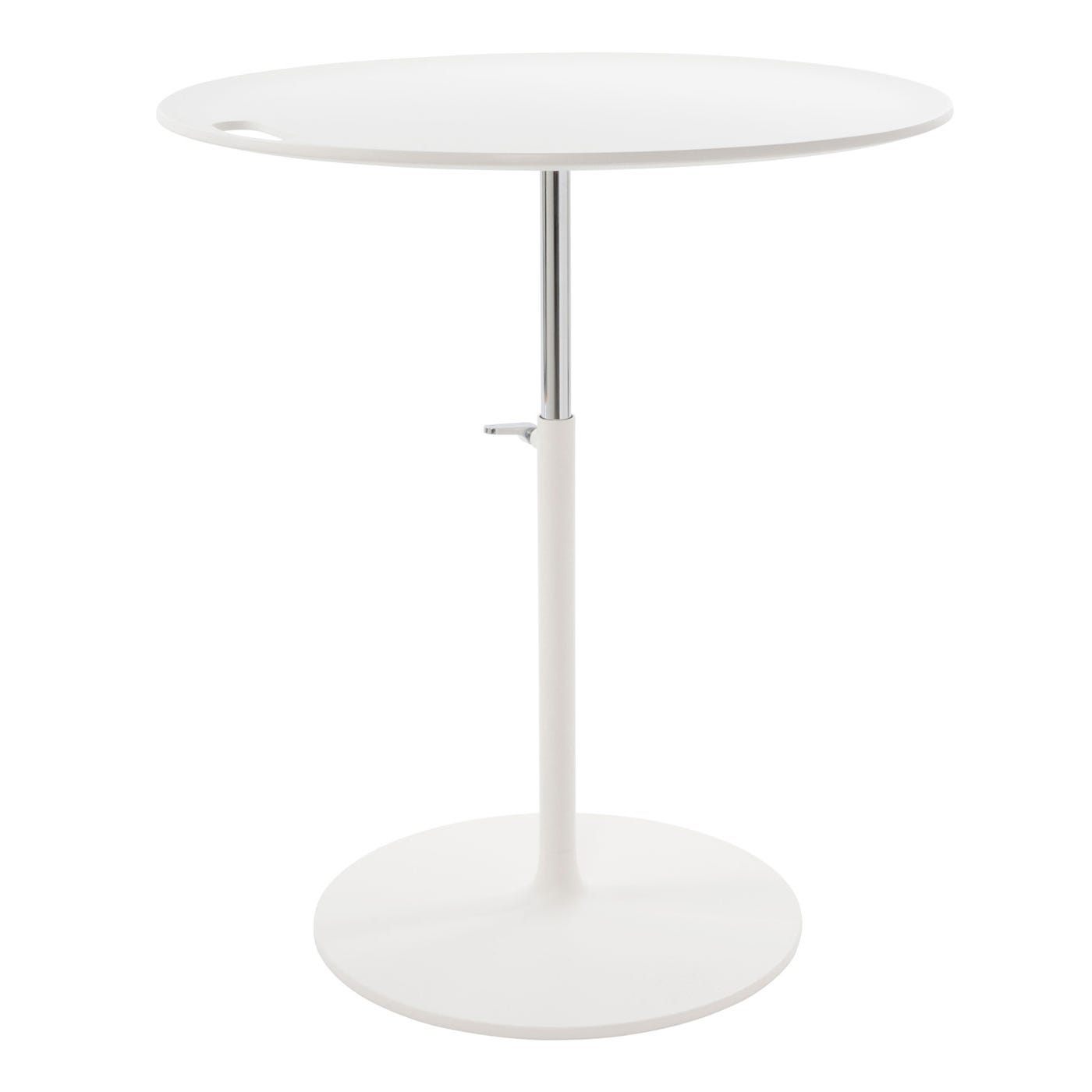 Vitra Rise Soft Light Chrome Table HEAL S