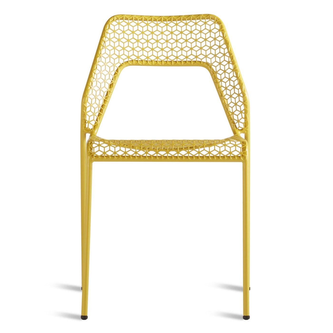 Blu Dot Hot Mesh Chair Yellow