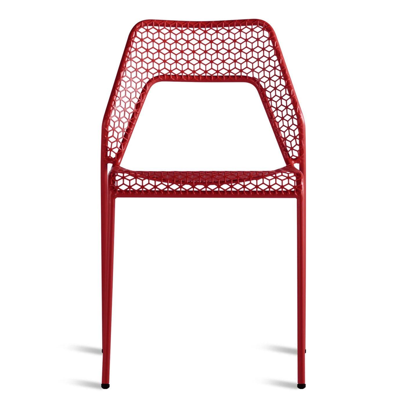 Blu Dot Hot Mesh Chair Red