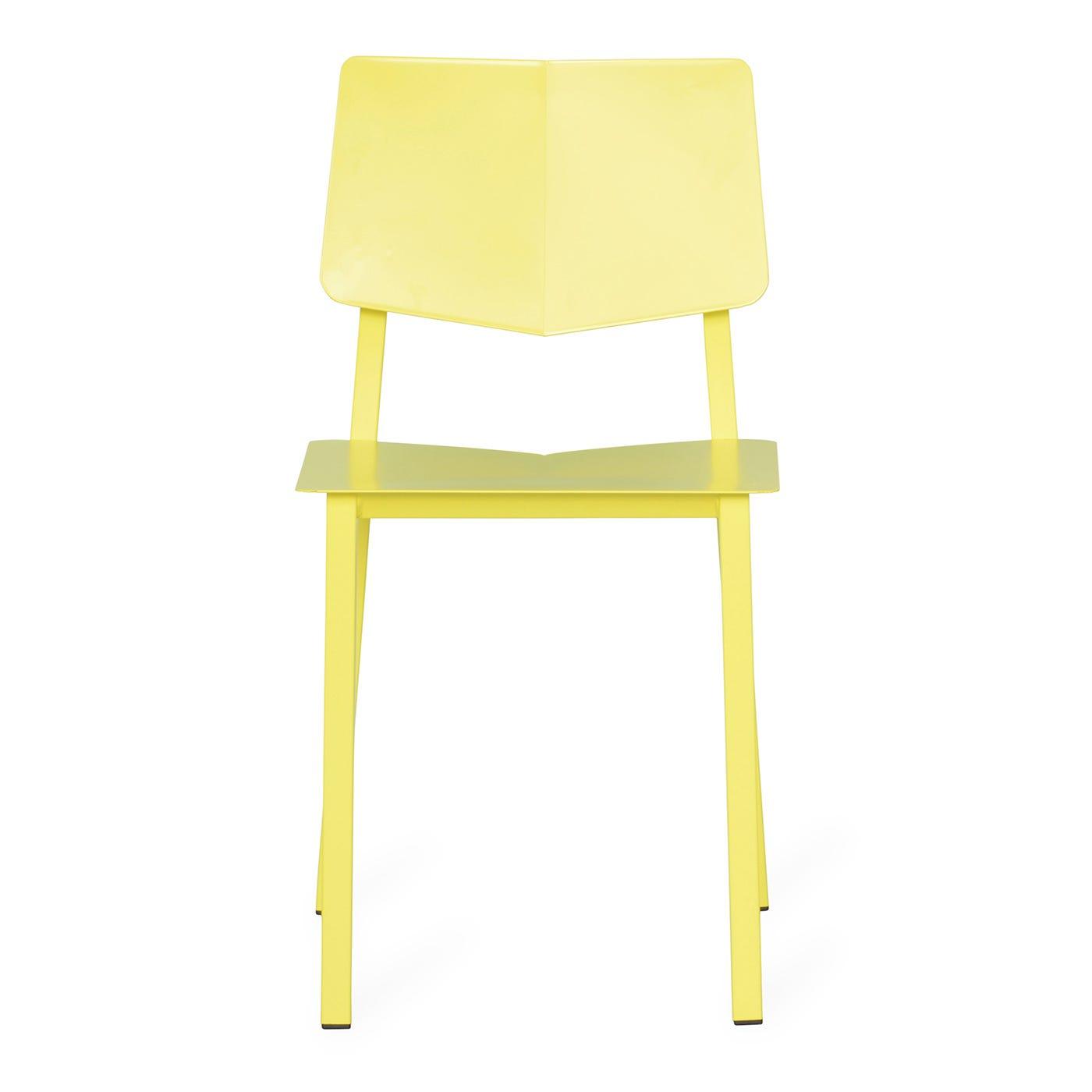 Chair Rosalie Lemon Yellow W42 X D40 X