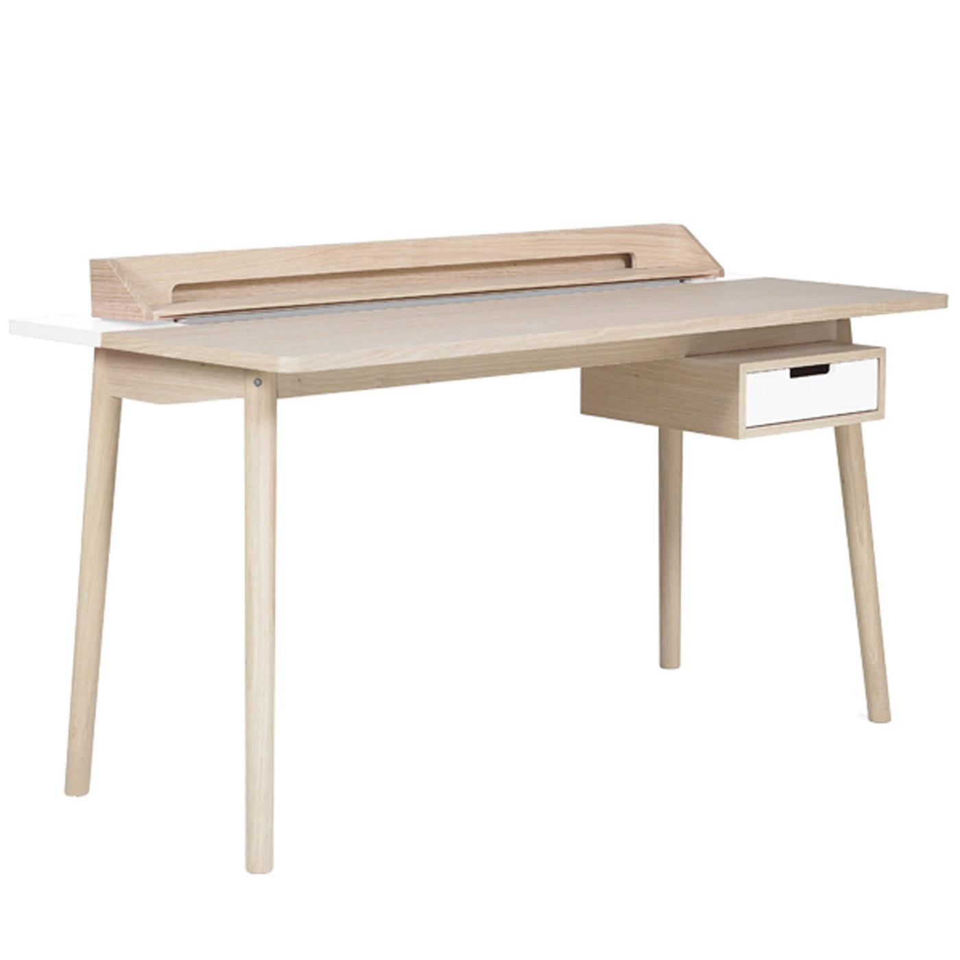 Honore White  Desk