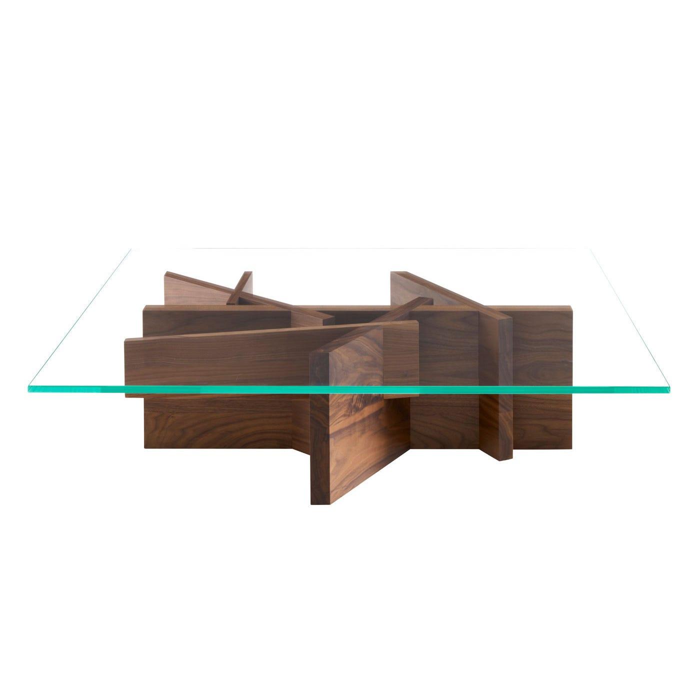 Ashera Natural Oak Rectangular Low Table - Warehouse Sale