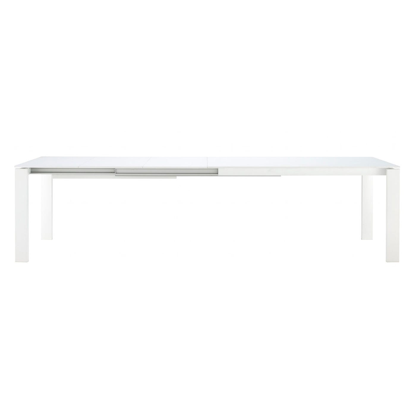 Bianco Dining Table 4-6 Seater White Glass