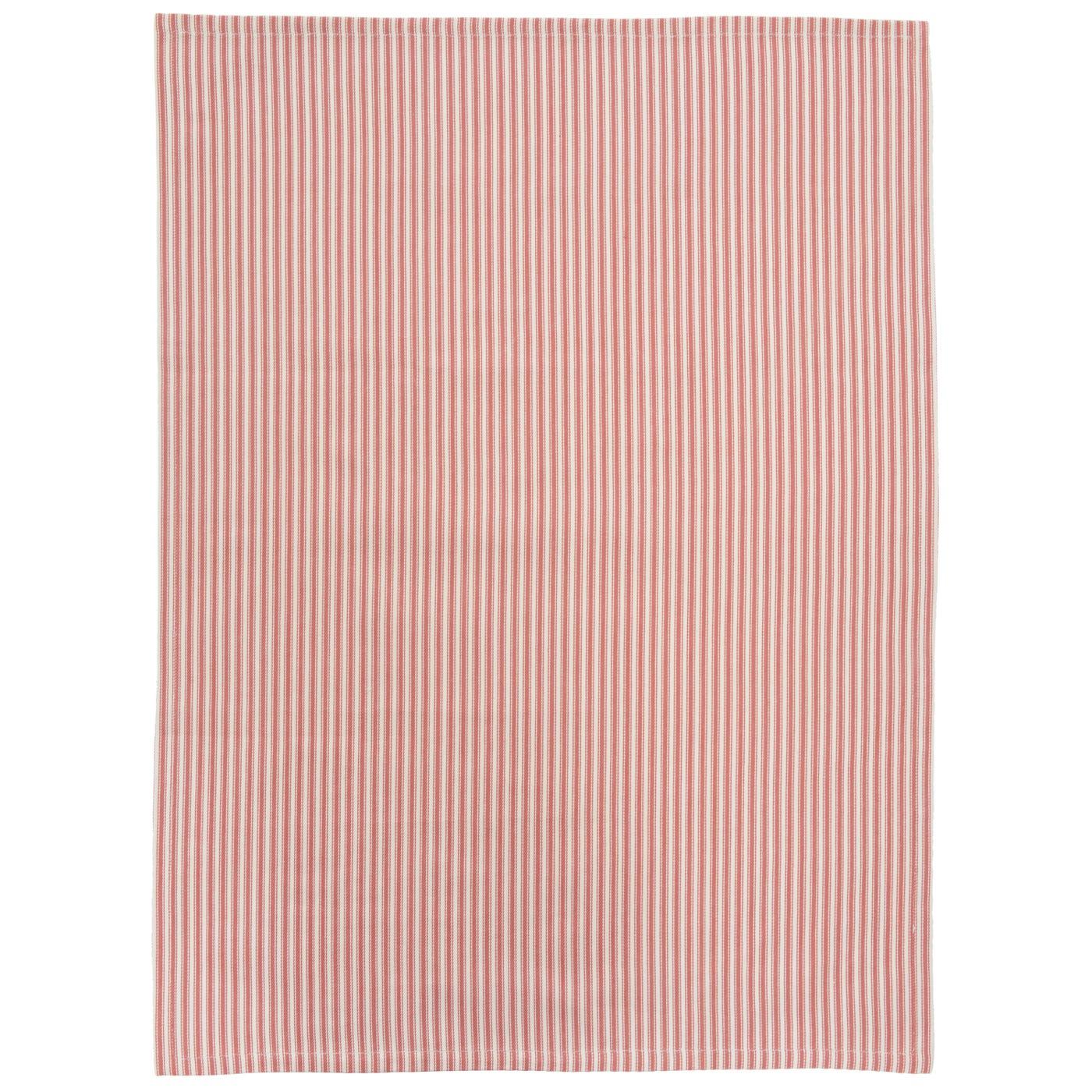 Clara & Edmund Stripe Red Set of Two Tea Towels