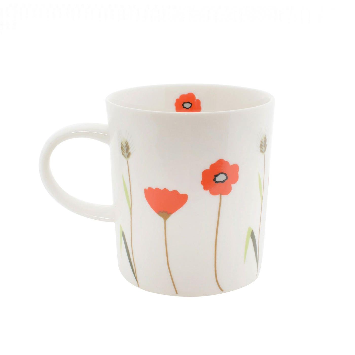 Herbarium Poppy Mug
